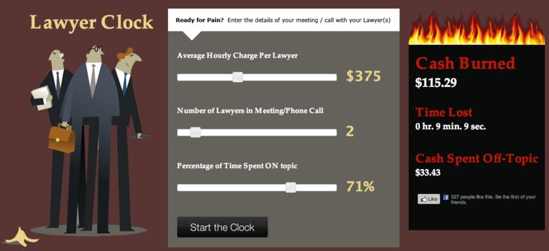 Lawyer Clock
